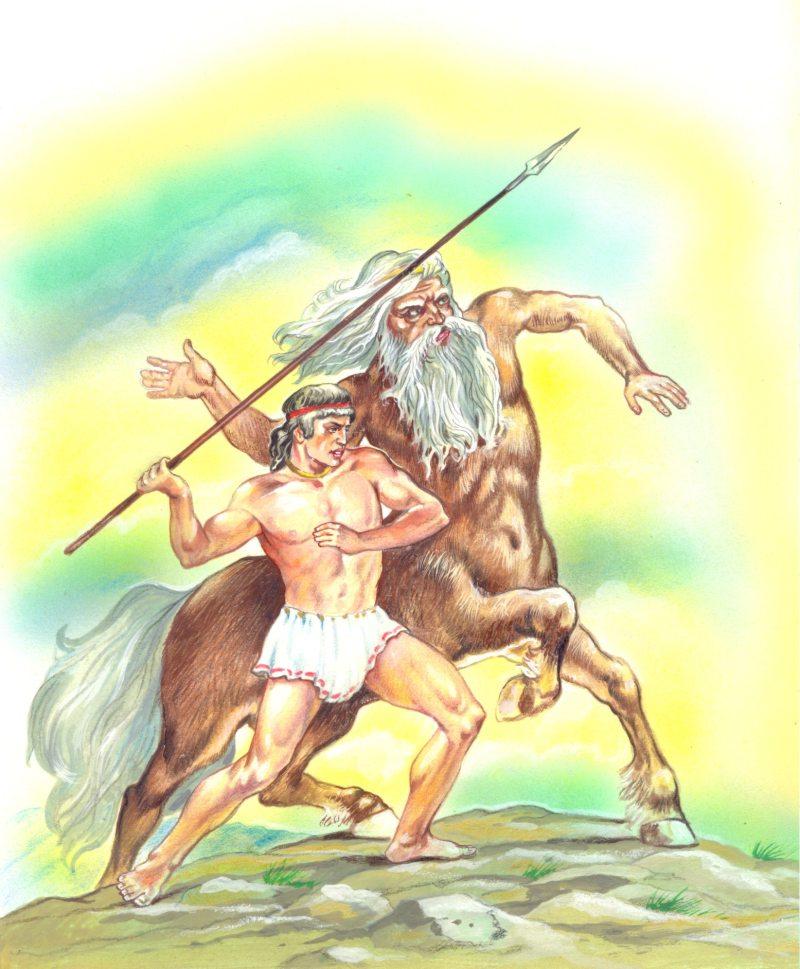 Миф древней греции с рисунками