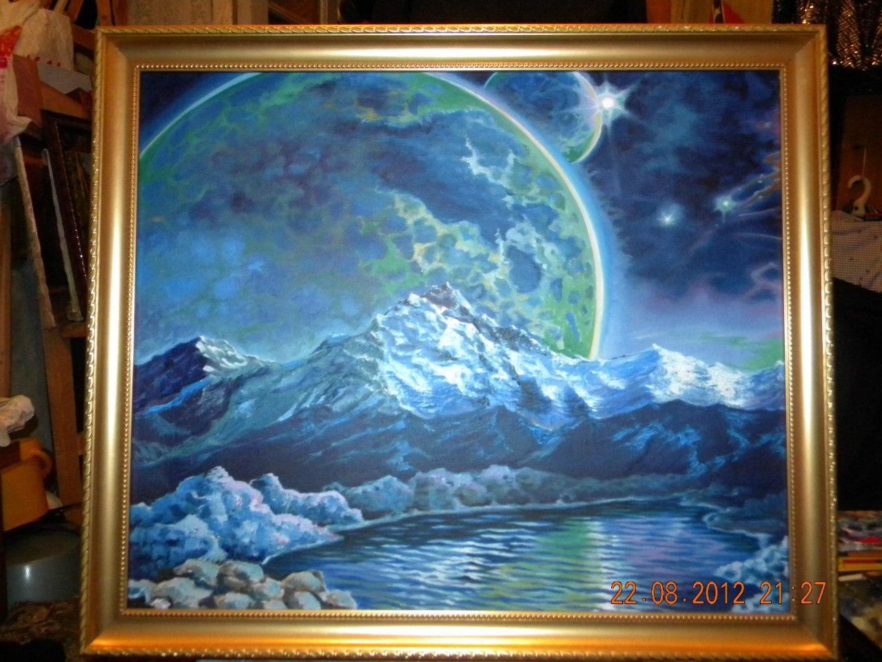 Живопись космоса фото 5
