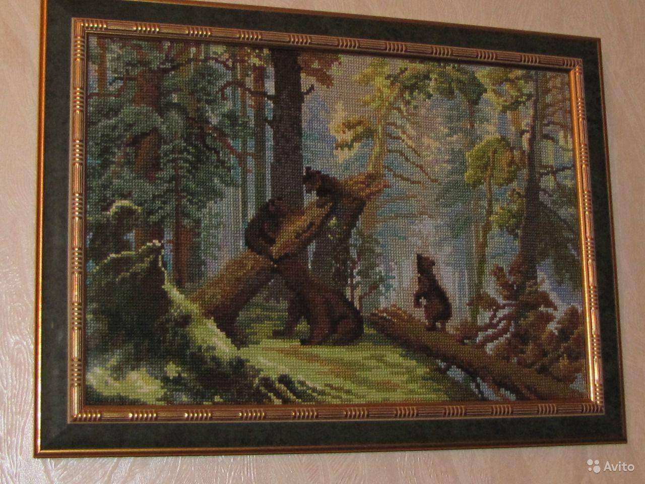 ВЫШИВАЙ. ру » Утро в сосновом лесу: авторские схемы 6