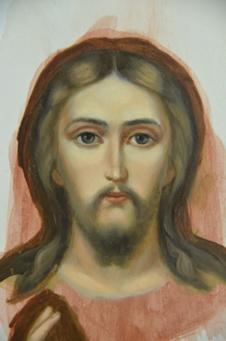 Иконопись икона лик реалистическая манера иконопись академка